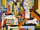 picasso-atelier-cu-chip-de-ghips-130x98 Picasso, Pablo