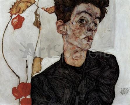 schiele-autoportret-446x360 schiele-autoportret
