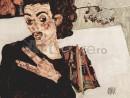 schiele-autoportret-ceramica-neagra-130x98 Schiele, Egon
