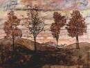 schiele-patru-copaci-130x98 Schiele, Egon