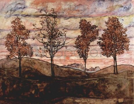 schiele-patru-copaci-462x360 schiele-patru-copaci