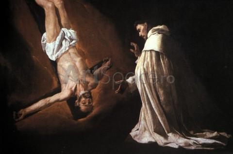 zurbaran-aparitia-sfantului-petru-crucificat-480x316 zurbaran-aparitia-sfantului-petru-crucificat