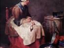 chardin-femeia-curatand-napii-130x98 Chardin, Jean-Baptiste Simeon