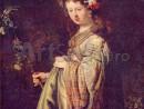 rembrandt-flora-130x98 Rembrandt - Portrete individuale
