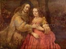 rembrandt-mireasa-evreica-130x98 Rembrandt - Portrete de grup