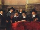 rembrandt-negustorii-breasla-postavarilor-130x98 Rembrandt - Portrete de grup
