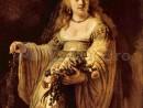 rembrandt-portret-saskia-flora-130x98 Rembrandt - Portrete individuale