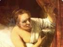 rembrandt-portret-tanara-femeie-pat-130x98 Rembrandt - Portrete individuale