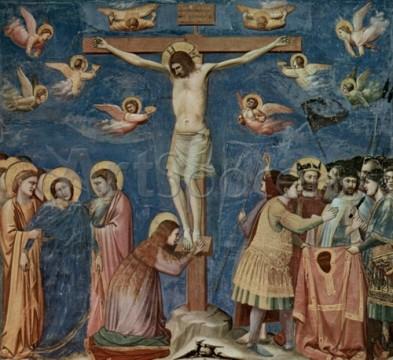 11_03064-393x360 Scene din viata lui Isus Hristos - No.35, Crucificarea, Giotto di Bondone