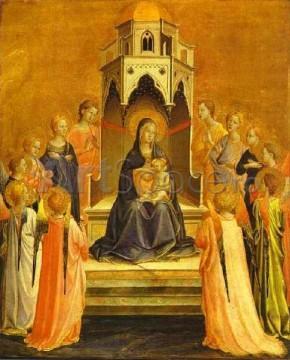 angelico-290x360 Fecioara si Pruncul cu Sfinti, Fra Angelico