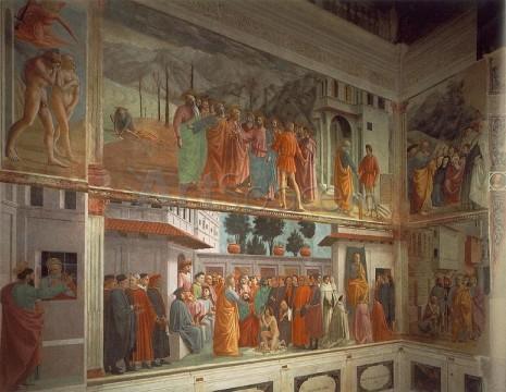 masaccio01-465x360 Capela Brancacci, peretele din stanga, Masaccio