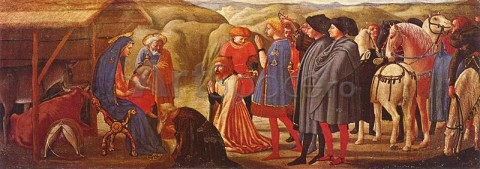 masaccio02-480x169 Adoratia magilor, detaliu din Polipticul din Pisa, Masaccio