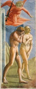masaccio_expulsion-146x360 Alungarea din Rai (Capela Brancacci), Masaccio