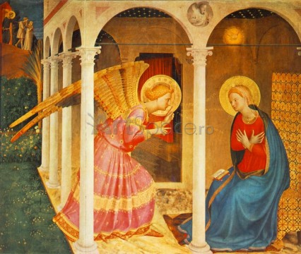 the-annunciation-fra-angelico-426x360 Bunavestire, Fra Angelico