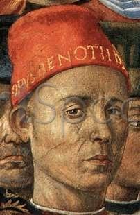 benozzo_gozzoli-portrait-of-the-artist Autoportret, Benozzo Gozzoli