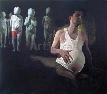maternitate-412x360 Maternitate, din ciclul Homosexualitate, Marina Capatina